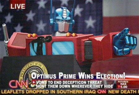 Optimus Elected