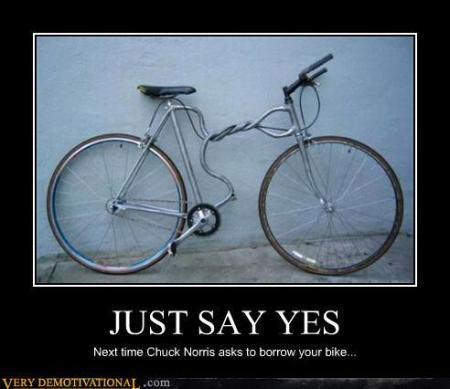 Chuck Norris Bicycle