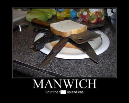 Chuck Norris Manwich