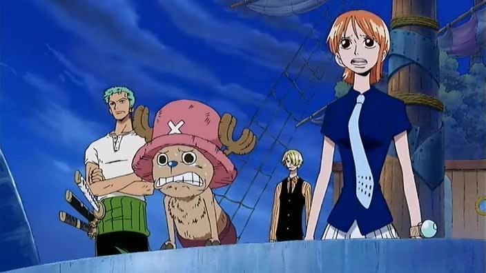 Usopp vs Luffy