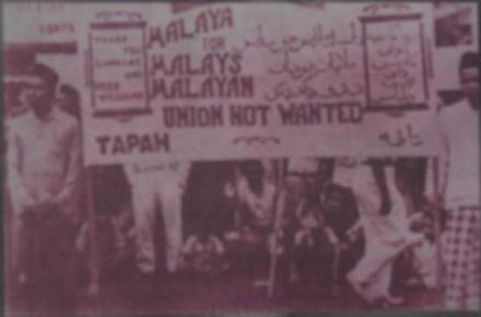 StreetProtestMalayanUnion