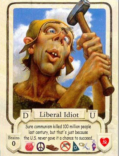 Communist Liberal Idiot