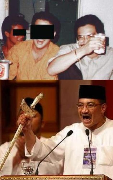 Beer Hulu Selangor Hishamuddin