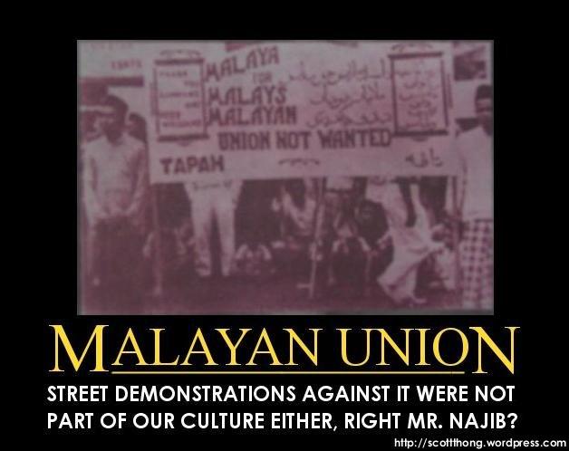 malayan union Kekalahan british di tanah melayu atas tangan jepun dalam tempoh yang singkat menyedarkan british terhadap kelemahan pentadbiran mereka di tanah melayu sebelum perang.