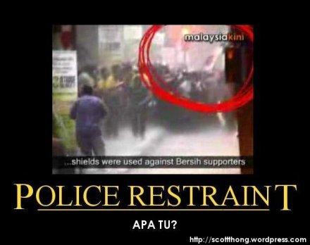 PoliceRestraintMotiva