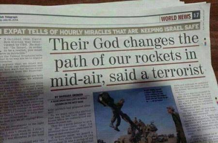 God is on Israel's Side