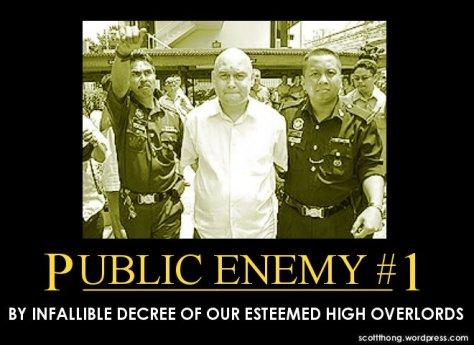 Raja Petra Kamarudin Public Enemy Number 1