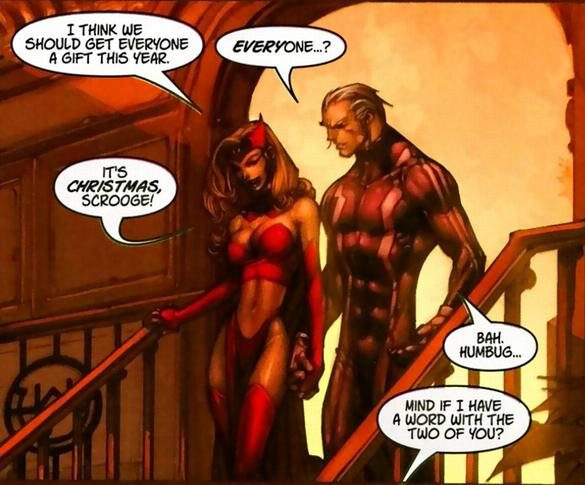 Quicksilver y Scarlet witch
