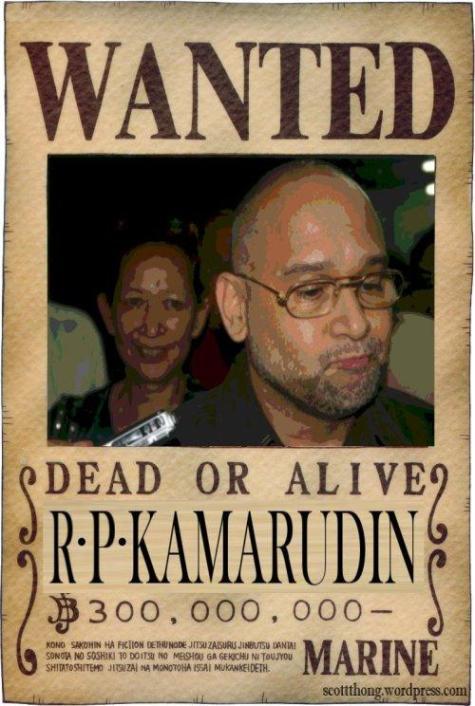 Wanted Raja Petra Kamarudin