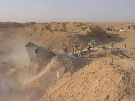 Iraq Sand Buried Jet 1