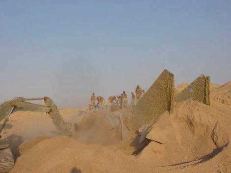 Iraq Sand Buried Jet 2