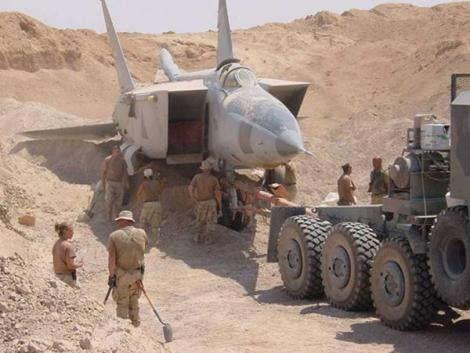Iraq Sand Buried Jet 4