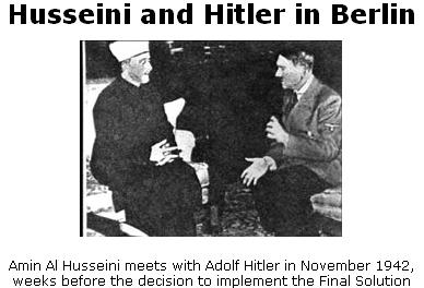Mufti of Jerusalem and Hitler