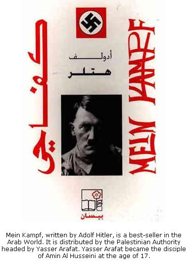 Mein Kampf distributed by Palestinian Authority