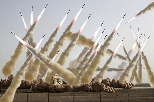 Iran's Missile Test Made 33% More Powerful With Photoshop (PLUS: MockeryImages!)