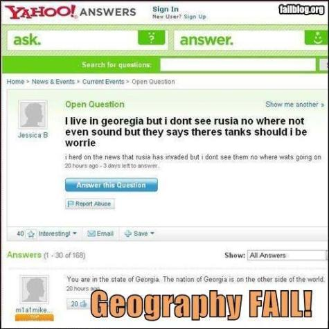 Geography Fail