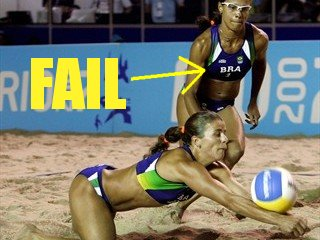 Olympic BRA Fail