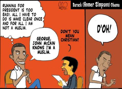 Obama my Muslim faith cartoon
