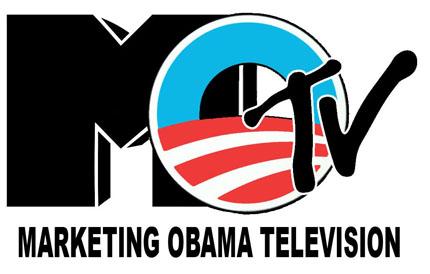 Obama MTV logo