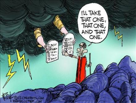 Obama Liberal Messiah God cartoon