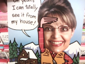 Card Insult Sarah Palin