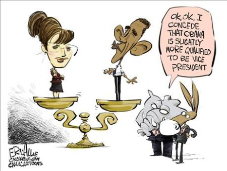 Sarah Palin cartoon