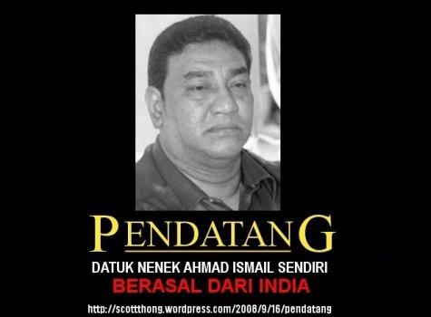 Ahmad Ismail Pendatang