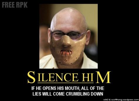 Silence Him RPK Poster