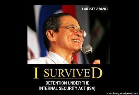 Lim Kit Siang ISA