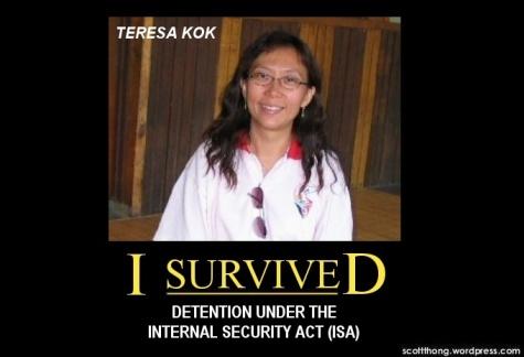 Teresa Kok ISA