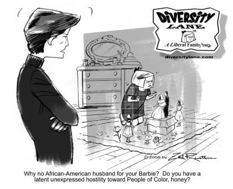 Diversity Lane cartoon