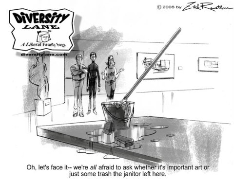 Diversity Lane cartoon
