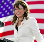 Palin in White