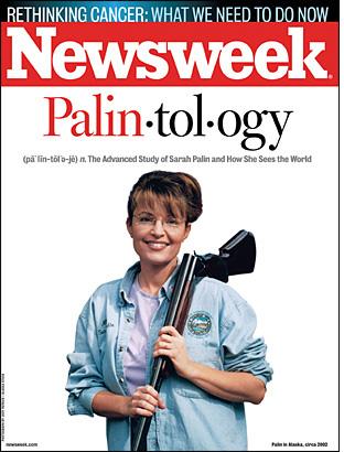 Palin Shotgun Newsweek