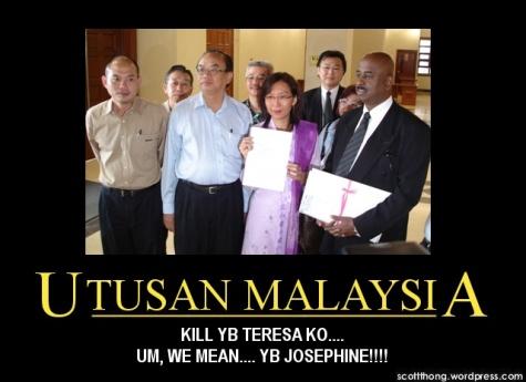 Utusan Malaysia Teresa Kok