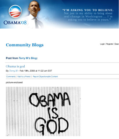 The Obamessiah