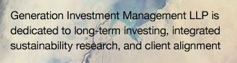 Generation Investment Management
