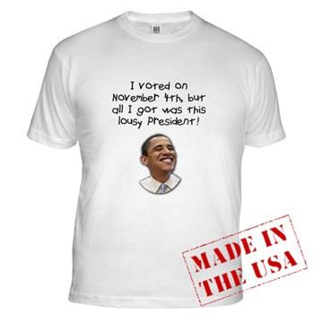 Lousy President Obama Shirt