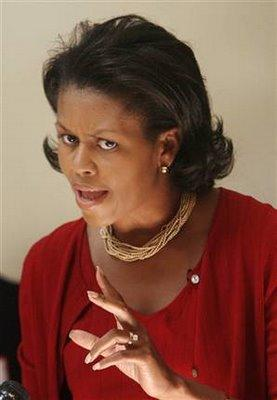 Michelle Obama Scowl As Usual