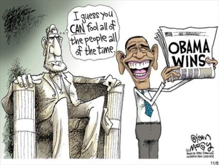 President Obama Cartoon