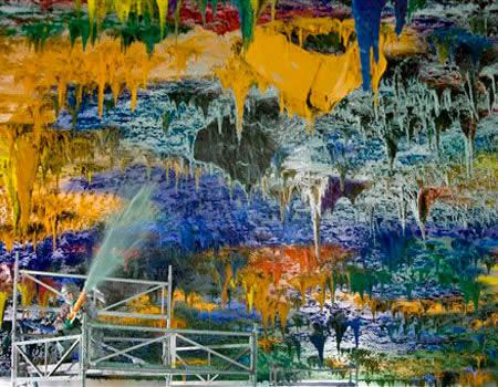 UN $23 million ceiling art