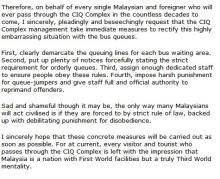 Custom & Immigration Quarantine Complex CIQ Bangunan Sultan Iskandar JB
