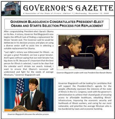 rod blagojevich scandal. 2010 Rod Blagojevich Scandal: