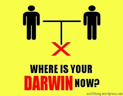 Where is Your Darwin Now? Gay