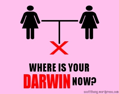 Where is Your Darwin Now? Lesbian