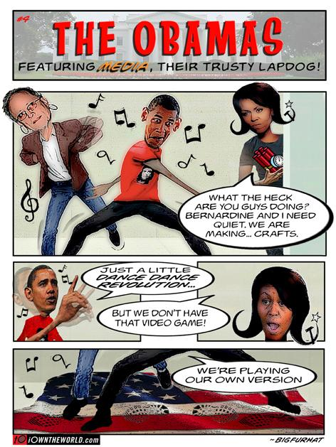 The Obamas Comic