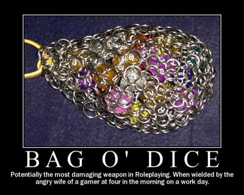 RPG Motivational Poster