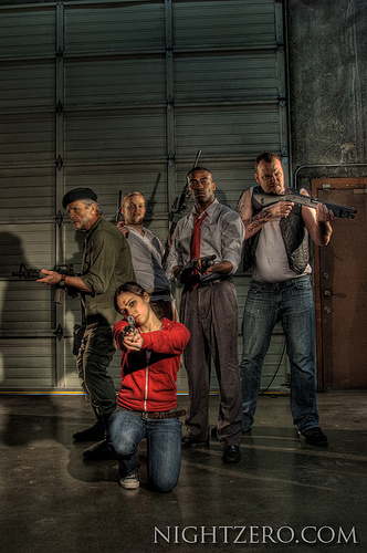 Left 5 Dead, a Left 4 Dead photo shoot