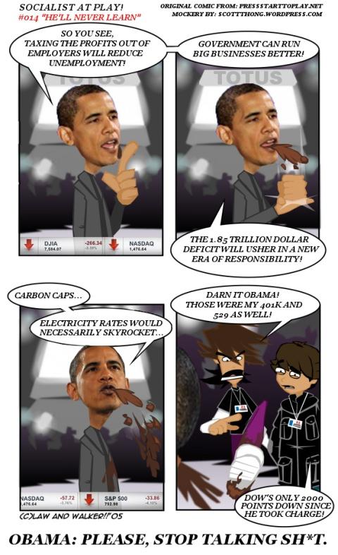 Obama Stop Talking Sh*t