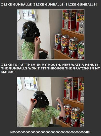 I-Mockery Darth Vader tragedy